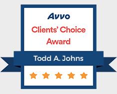 Avvo Client's Choice Award - Todd A. Johns