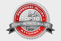 Attorney and Practice Magazine's Top 10 Personal Injury Attorney