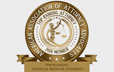 Top Ranking Criminal Defense Attorney - American Association of Attorney Advocates
